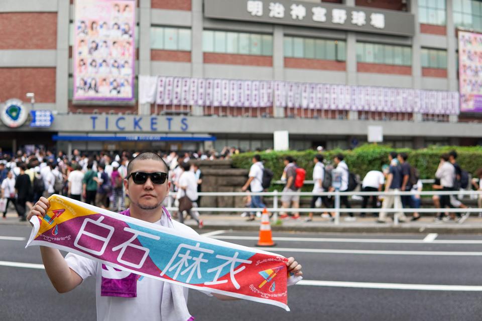 【2019年9月1日(Sun)】乃木坂46 真夏の全国ツアー2019 Final @神宮球場に行ってきた。桜井キャプテンのラストステージだったようです。